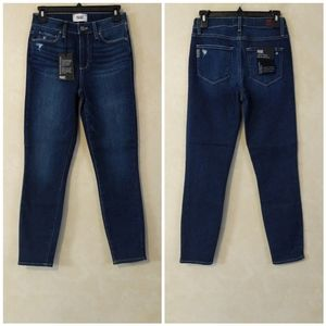 Paige Hoxton High Rise Skinny Jeans in Kemp